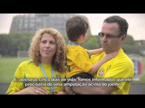 Paralimpíadas Escolares 2013 - Rio Woolf encontra Alan Fonteles em São Paulo - YouTube