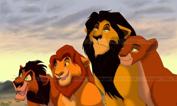ahadi uru mufasa and taka (scar) | The Lion King