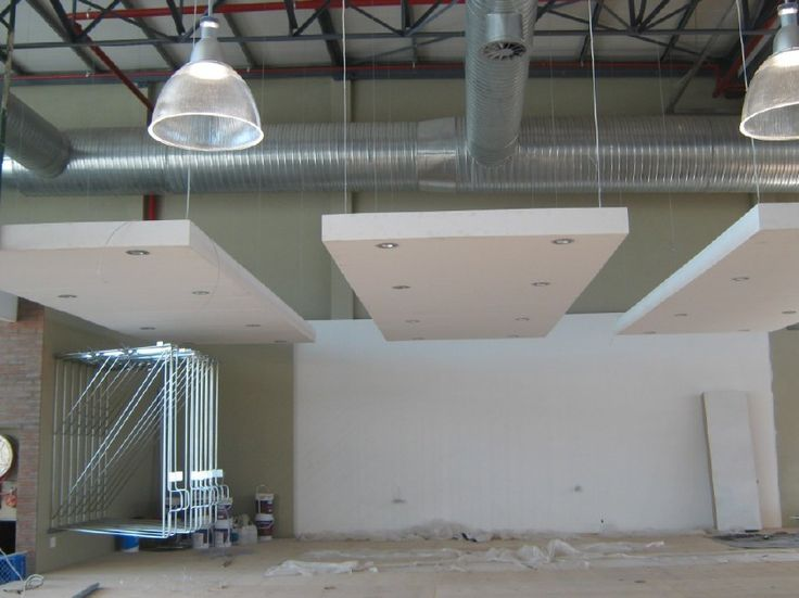 Image Main Gallery X-Board Suspended Bulkheads & Beams