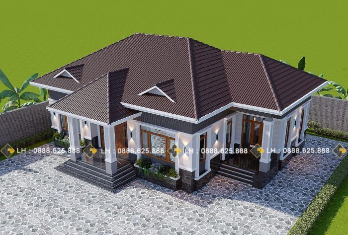 Gorgeous Four Bedroom Bungalow Pinoy Eplans House Plan Gallery Modern Bungalow House Bungalow House Plans
