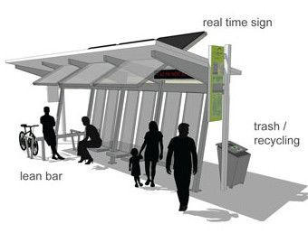 LDS Church News - Florida mom designs next generation of bus-stop shelters