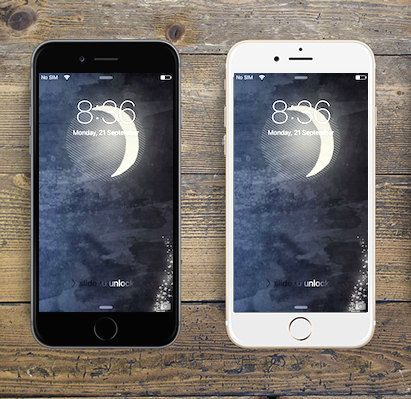 """Moonshine"" iPhone 6 digital wallpaper/creative background by LeMounir"