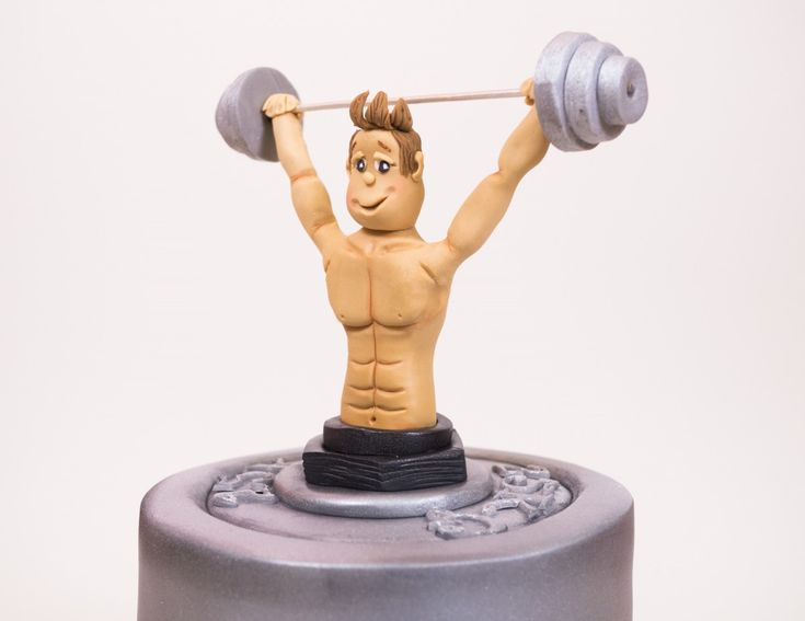 Learn how to make a weightlifting cake with expert video tuition from top cake decorator Paul Bradford. Join now to access 100s of free lessons.