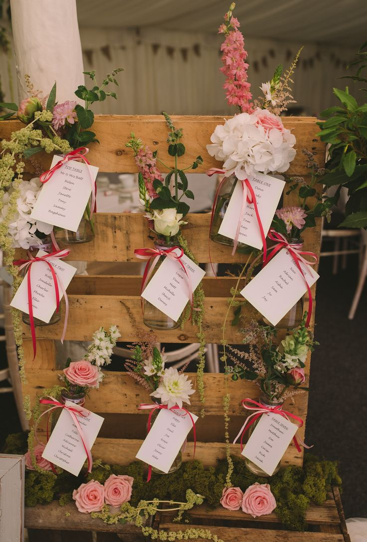 Shabby Chic table plan - Doublefrisson.com