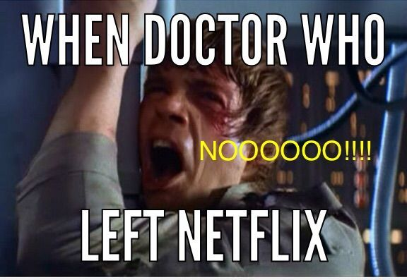 When it left NETFLIX   Doctor Who Amino