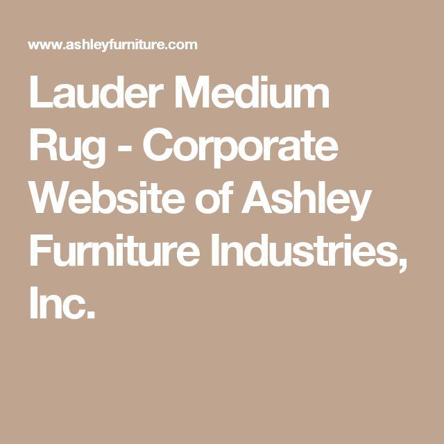 Lauder Medium Rug - Corporate Website of Ashley Furniture Industries, Inc.