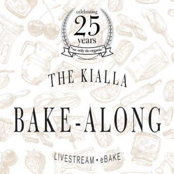 We're celebrating 25 years of milling organic grains with a livestream eBake