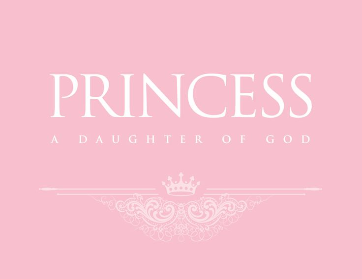 Yes!!!! Understand! !!!!! I am a Princess because my Father is the King of Kings. ♡ Amen!  Blondie 6.4.2013