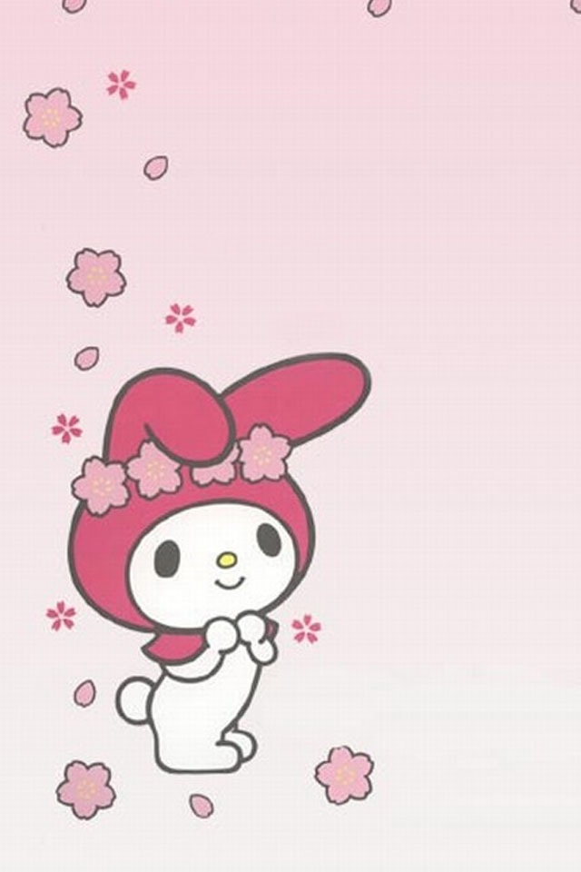 My Melody Sanrio Swiss Roll Template CharactersMy MelodySanrio Hello KittyWallpaper