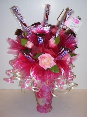 Happy Birthday! - Candy Gifts and Crafts, Candy Bouquets, Centerpieces, Handmade Crafts, Hand Painted Glassware/Bucket - ecomPlanet Web Hosting - the #1 Free hosting solution worldwide