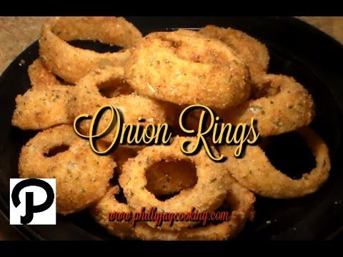 How To Make THE BEST Crispy Onion Rings At Home: Delicious Onion Ring Sa...