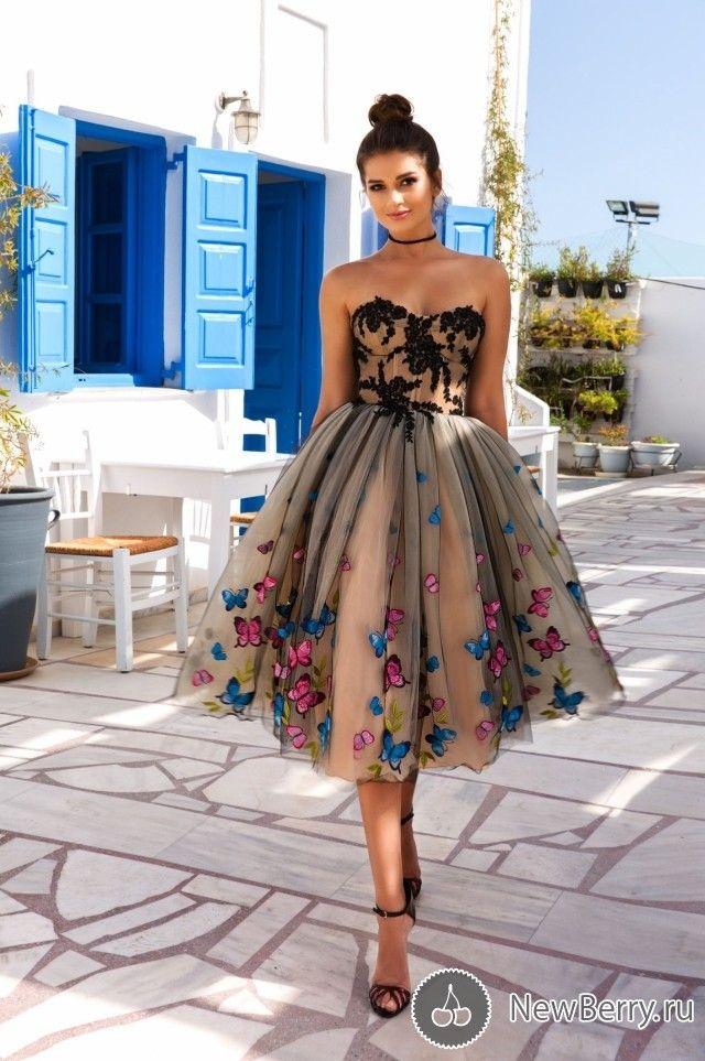 Vestidos de noche de cristal Diseño Primavera-Verano 2017