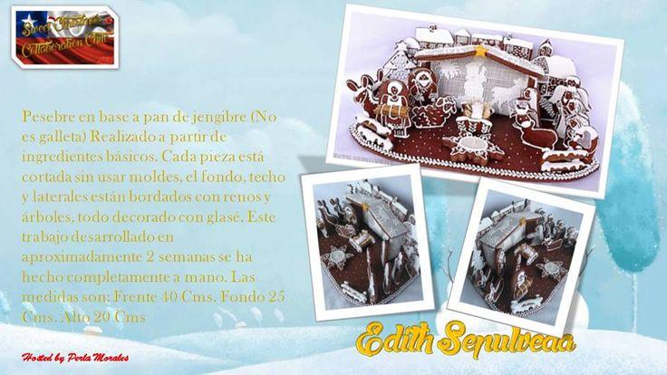 Sweet Christmas Cakes collaboration Chile!! Dic 2016 Edith Sepúlveda