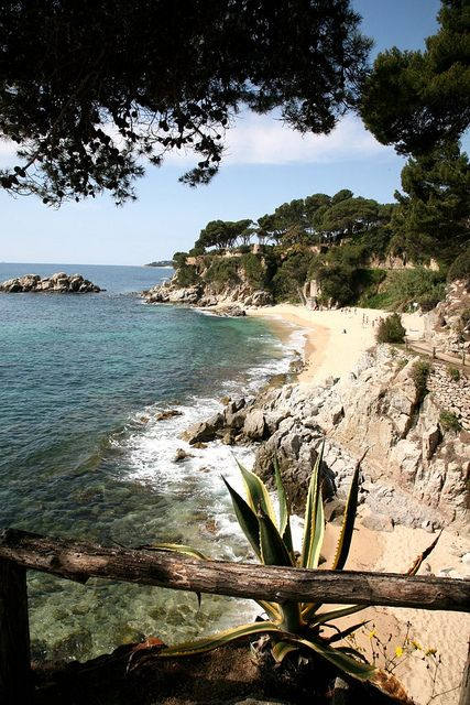 "España : Cataluña, Costa Brava, Platja d'Aro, hotel Silken San Jorge : "" playa 2 "" 