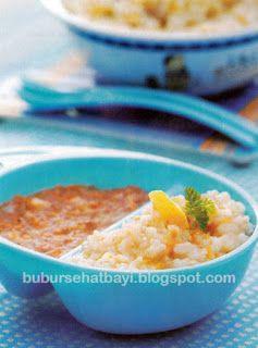 Resep Bubur - Tips Trik | Sehat | Bayi | 6-12 bulan : Resep Bubur Sayur Kombinasi