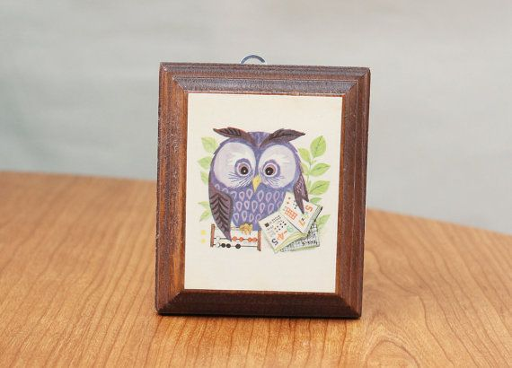 Owl wall art: Wall Hanging, Owl Things, Owl Wall Art, Owl Math