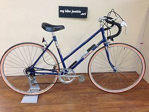 Raleigh Sun Solo classic drop handlebar step thru ladies road bike - 1980's   eBay