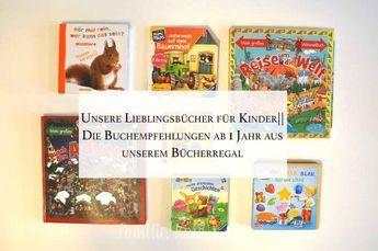 Die schönsten Kinderbücher ab 1 Jahr | Unsere TOP 9 Empfehlungen