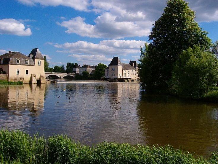 la Flèche: Moulin sur le Loir.
