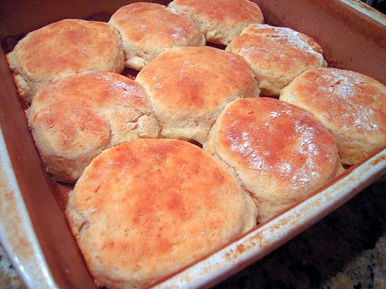 Beer Biscuits - Chris made these and they are SO good!!