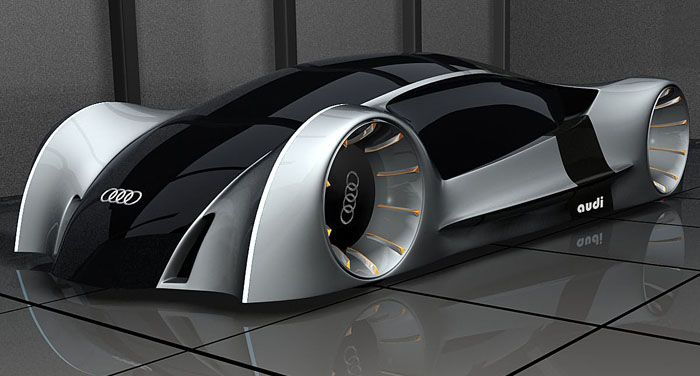 Audi Concept Car Futuristic Vehicle Future Car Futuristic Design - Audi future cars
