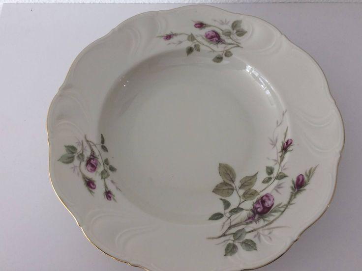 8 Winterling Marktleuthen Bavaria Marlene 33 porcelain soup plates by MORETHANVINTAGENL on Etsy