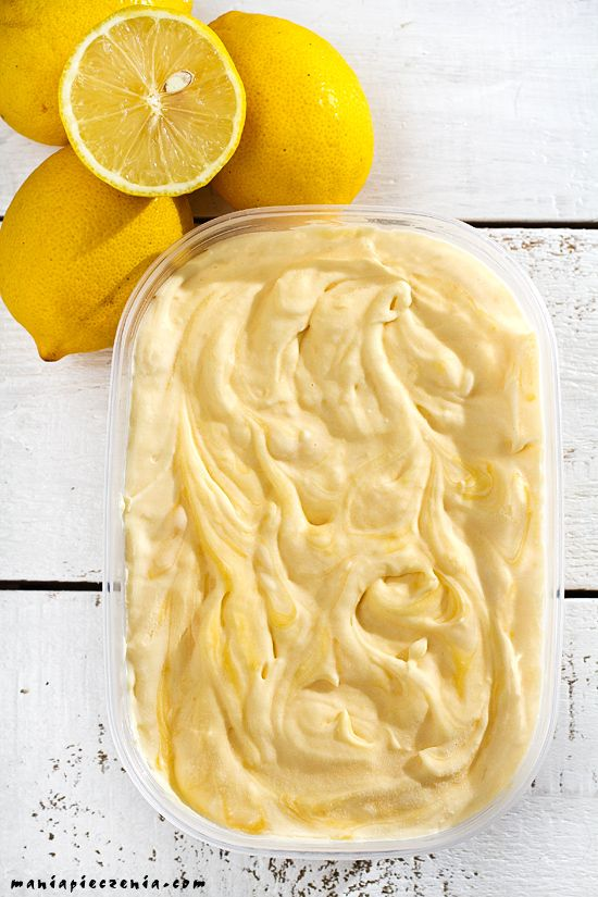 lody, domowe lody, cytrynowe lody, lody bez maszyny, cytrynowe lody bez maszyny, najlepsze lody, lemon ice cream, homemade lemon ice cream, lemon curd ice cream,
