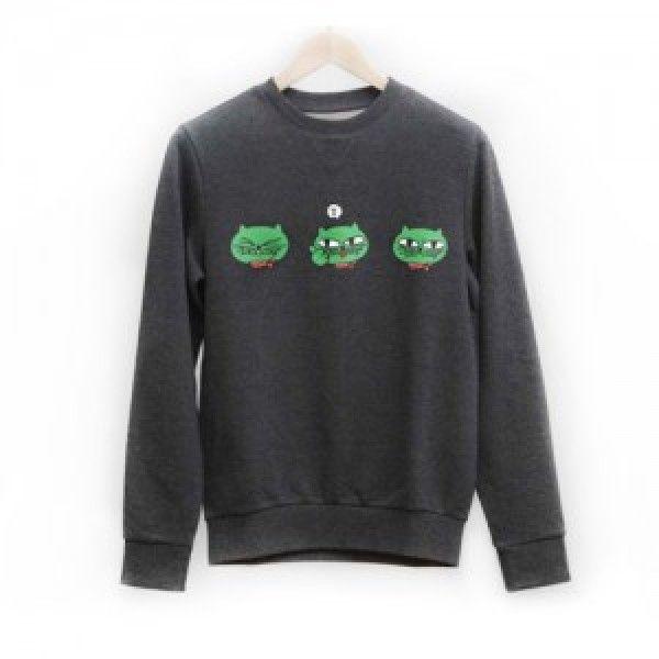 [K-pop] Okcat Man-to-Man Sweatshirt (2PM Ok Taec Yeon Cat Character)