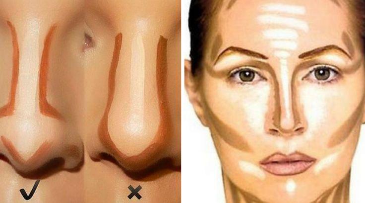 Dicas de Maquiagem para Narizes Grandes