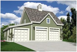 Instant Download Garage Plans - Get started on your new garage or country car barn right now. With one order for just $29.00 you can download construction blueprints for all of the designs that you'll find on this page. You'll have a choice of one, two, three or four-car garages, barn and carriage house style garages, garages with lofts and workshop garages. You'll be able to download any and all of the plans right away and print as many copies as you need.