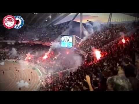 GATE 7 - OLYMPIAKOS ULTRAS - Best moments - YouTube