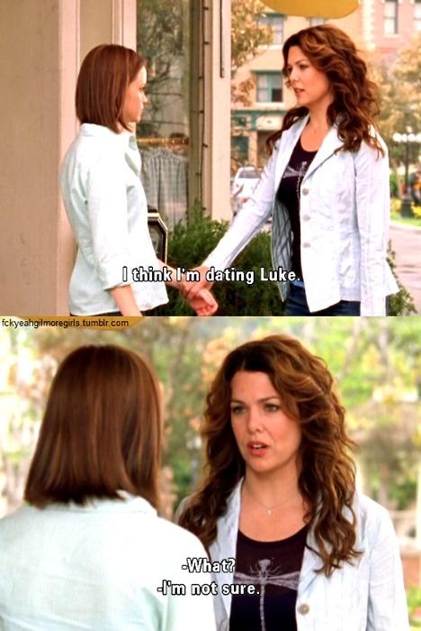 lorelai and luke dating advice