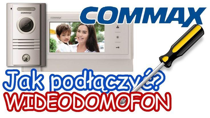 Jak podłączyć wideodomofon COMMAX - Instrukcja Tutorial Napisy   FILM Z NAPISAMI ! WŁĄCZ NAPISY !  Kamera ------------- - Biały (white) Audio; - Niebieski (blue) Masa GND; - Czerwony (red) +12V Zasilanie VCC; - Żółty (yellow) Video   Monitor CAM1 ------------------ - Biały (white) Audio; - Niebieski (blue) Masa GND; - Czerwony (red) +12V Zasilanie VCC; - Żółty (yellow) Video