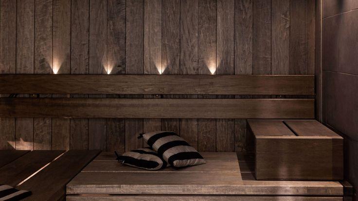 tummaksi petsattu sauna - Google Search
