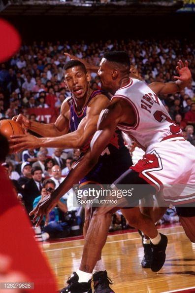 Fotografia de notícias : Phoenix Suns Kevin Johnson in action vs Chicago...