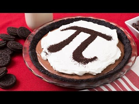 CHOCOLATE OREO MOUSSE PI PIE - NERDY NUMMIES - YouTube In honor of pi day!!!! This looks sooooooo good!