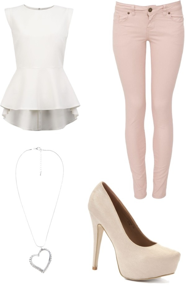 Peplum and Pumps