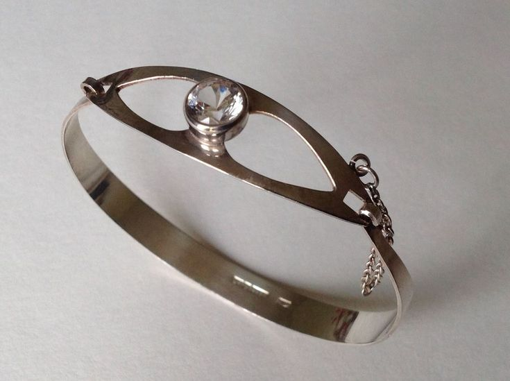 Finland Kultaseppa Salovaara Modernist Silver Bangle with Rock Crystal 1971 | Jewellery & Watches, Vintage & Antique Jewellery, Vintage Fine Jewellery | eBay!