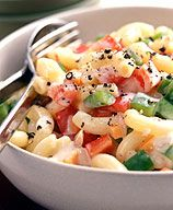Macaroni Salad - I've actually made this many times and it's terrific - just 3 WW Pts per serving & with lots of veggies.