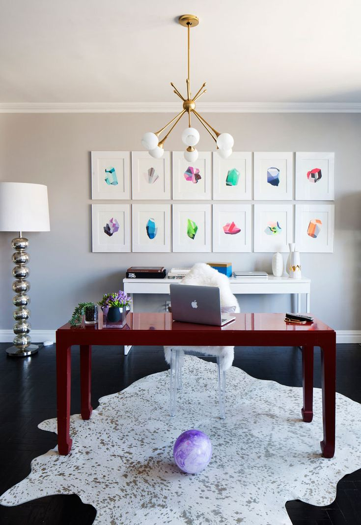 home office art. 10 tips a cool and colorful rental on the upper east side home office art