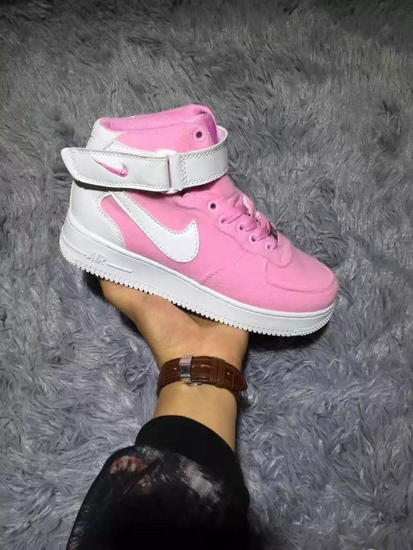 check out 2a041 65f4b 2018 Spring Fashion Nike Air Force 1 AF1 Pink White