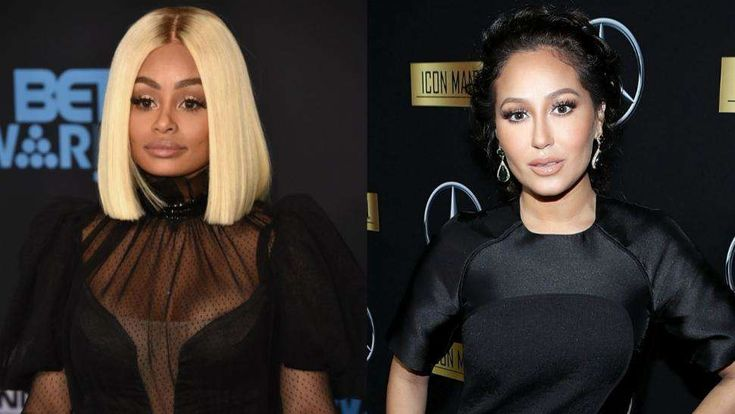 Rob Kardashian's Exes Blac Chyna and Adrienne Bailon Sport the Same Dress -- Who Wore It Best?