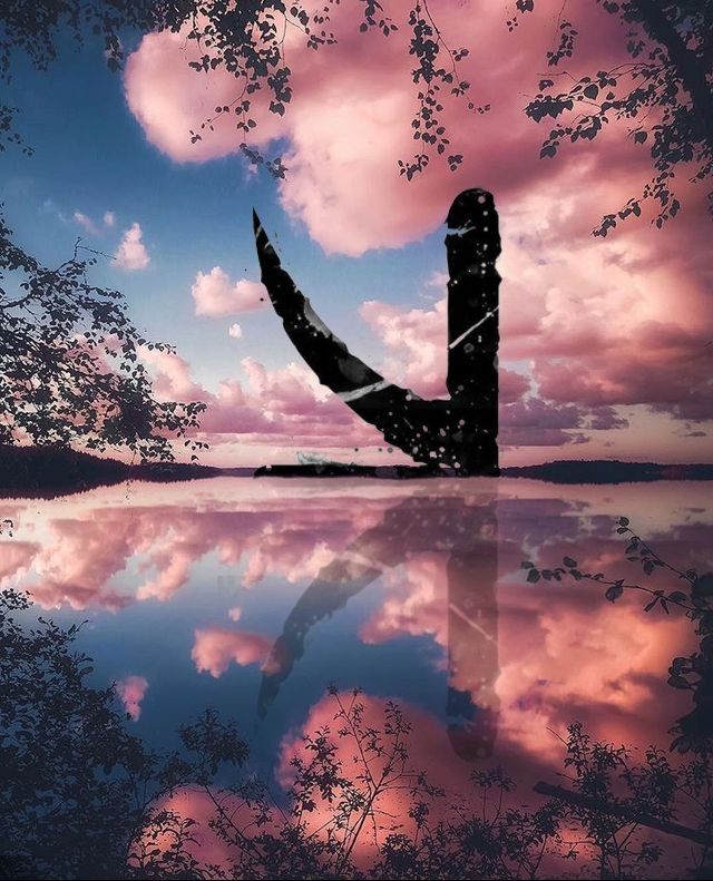 KSHMR logo #kshmr #kshmrlogo #logo #lake #clouds #pink #gracethekshmrfan