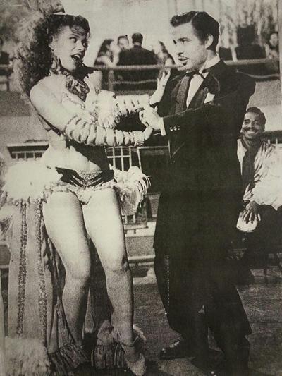 Excelente bailadora Amalia Aguilar actiz y Rumbera Cubana. Estrella del cine Mexicano con Tin Tan