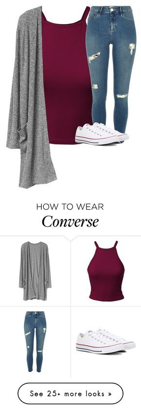 """Untitled #2780"" by laurenatria11 on Polyvore featuring Converse"