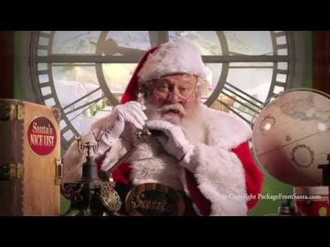 A Free Personalized Phone Call from Santa Claus App – Free Phone Call from Santa Himself!