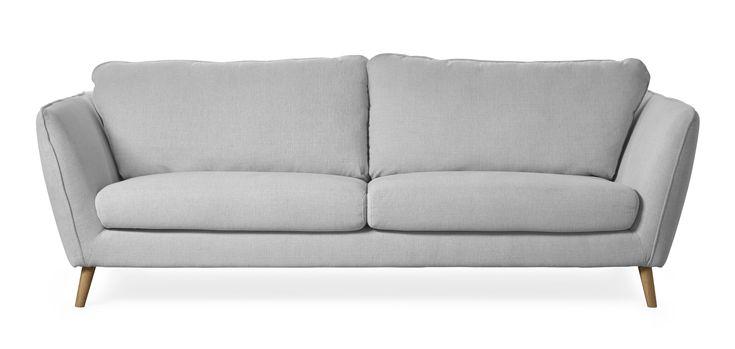 Madison Lux är en byggbar soffa i skandinavisk stil. Soffan har en lyxig komfort med fjäder