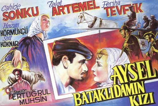 Aysel Bataklı Damın Kızı (1934) filminin afişi