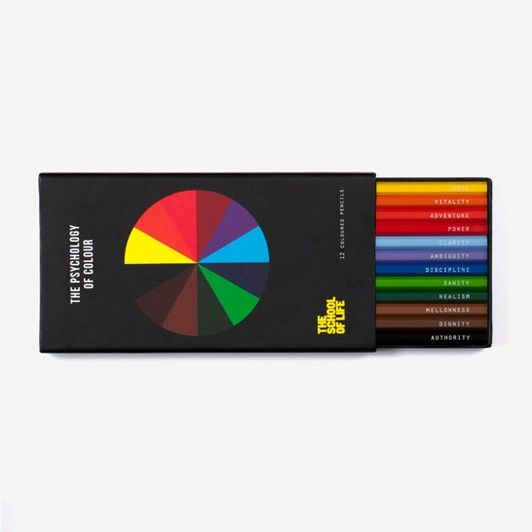 The Psychology of Colour Pencil Set