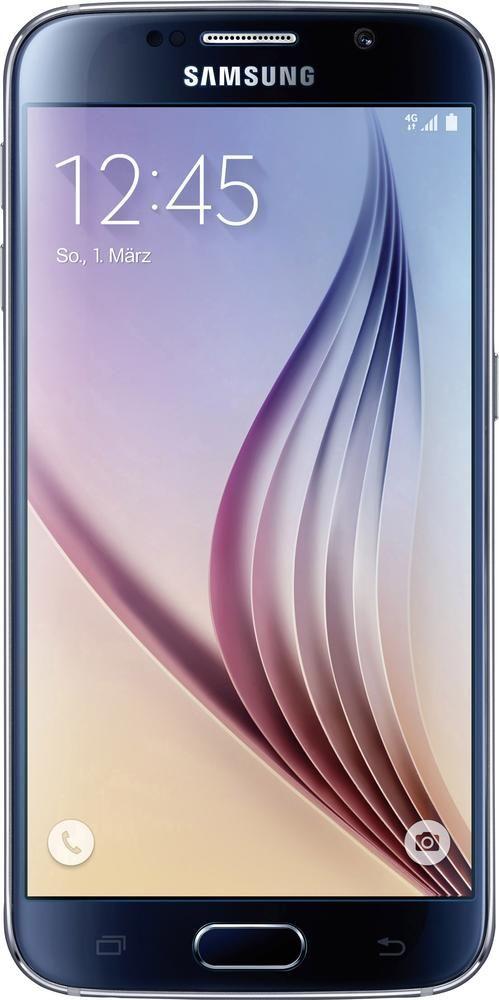 Samsung Galaxy S6 LTE-Smartphone 13 cm (5.1 Zoll) 2.1 GHz Octa Core 32 GB 16 Mio. Pixel Android™ 5.0.2 Schwarz, Black Sapphire im Conrad Online Shop